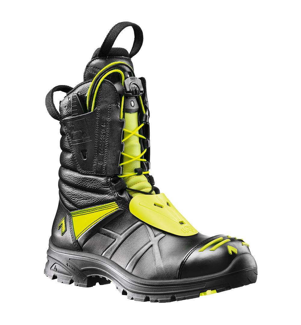 Let, lynsnøre brandstøvle Fire Eagle GTX i sort gul